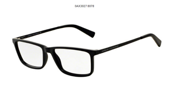 Armani Exchange 0AX3027-8078-black