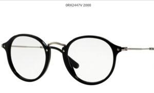 Ray Ban 0RX2447V-2000-black