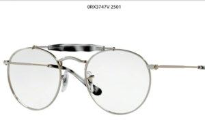 Ray Ban 0RX3747V-2501-silver
