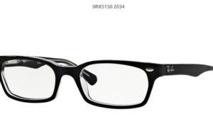 Ray Ban 0RX5150-2034-black