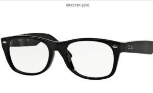 Ray Ban 0RX5184-2000-black