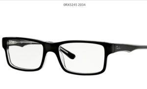 Ray Ban 0RX5245-2034-black