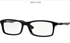Ray Ban 0RX7017-2000-black